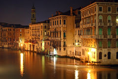 Groot Kanaal in Venetië stock fotografie