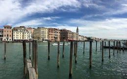 Groot kanaal Venetië, Italië royalty-vrije stock afbeeldingen