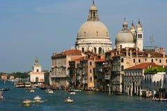 Groot Kanaal in Venetië, Italië Stock Afbeeldingen