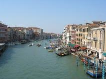 Groot kanaal, Venetië, Italië Stock Foto