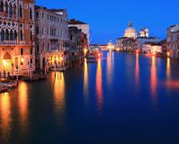 Groot kanaal Venetië Italië Royalty-vrije Stock Foto's