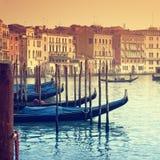 Groot Kanaal, Venetië - Italië Stock Afbeeldingen
