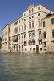 Groot Kanaal in Venetië (Italië) stock afbeeldingen