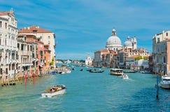 Groot kanaal, Venetië, Italië royalty-vrije stock afbeelding