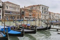 Groot Kanaal in Venetië Italië Stock Afbeelding