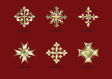 Groot kruis Royalty-vrije Stock Foto's