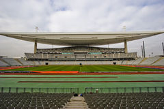 Groot Leeg Stadion Stock Foto's