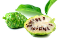 Groot morindafruit Royalty-vrije Stock Afbeelding