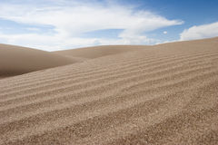 Groot Nationaal Park en Domein 04 van de Duinen van het Zand Stock Fotografie