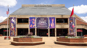 Groot Ole Opry House in Nashville, Tennessee Stock Foto's