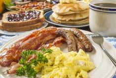 Groot ontbijt Royalty-vrije Stock Foto's