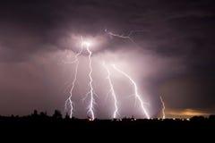 Groot onweer Stock Afbeeldingen