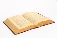 Groot oud boek Royalty-vrije Stock Afbeeldingen