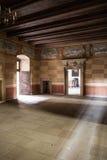 Groot oud kasteel in Polen Stock Afbeeldingen
