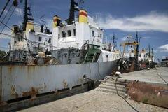 Groot oud schip Stock Foto