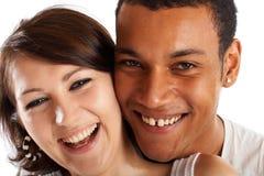 Groot Paar in Liefde Royalty-vrije Stock Afbeeldingen