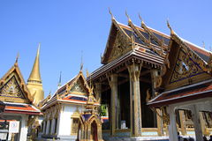 Groot paleis, Bangkok Stock Foto