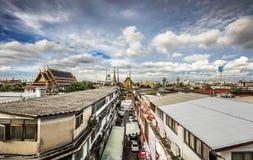 Groot Paleis, Bangkok Thailand royalty-vrije stock afbeelding
