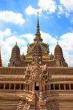 Groot Paleis in Bangkok, Thailand Stock Foto's