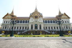 Groot paleis in Bangkok, Thailand. Royalty-vrije Stock Fotografie