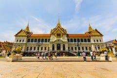 Groot Paleis in Bangkok, Thailand. Royalty-vrije Stock Foto's
