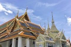 Groot Paleis Bangkok, Thailand Royalty-vrije Stock Afbeeldingen