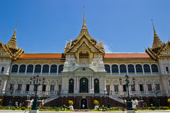 Groot paleis Bangkok, THAILLAND Stock Afbeeldingen