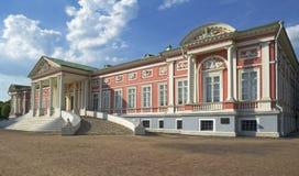 Groot Paleis, het landgoed Kuskovo royalty-vrije stock afbeeldingen