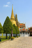 Groot paleis in Thailand Royalty-vrije Stock Foto's