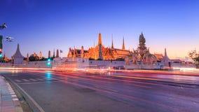 Groot Paleis of Wat Phra Kaeo Royalty-vrije Stock Foto