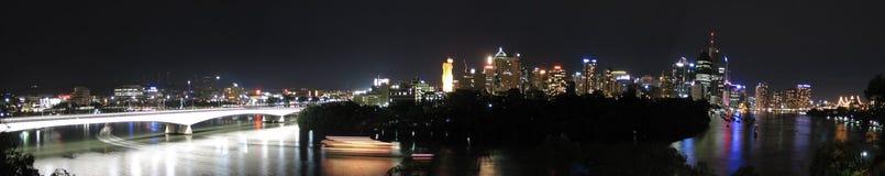 Groot Panorama van Brisbane Royalty-vrije Stock Foto's