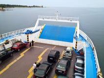 Groot passagiersschip royalty-vrije stock foto