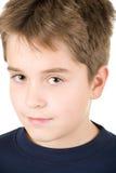 Groot portret van een jonge tienerjongen Stock Foto