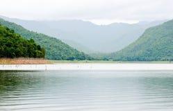 Groot reservoir Royalty-vrije Stock Foto's
