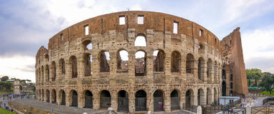 Groot Roman Colosseum Coliseum, Colosseo in Rome royalty-vrije stock afbeeldingen