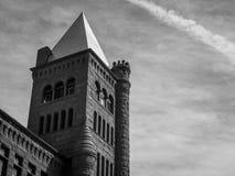 Groot Rood Kasteel in Colorado van Westminster Stock Fotografie