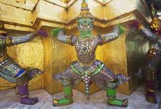 In Groot Royal Palace van Bangkok Één van de decoratie van het Paleis Royalty-vrije Stock Afbeelding