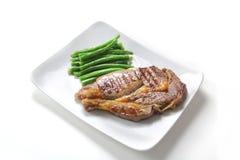 Groot rundvleeslapje vlees Royalty-vrije Stock Fotografie