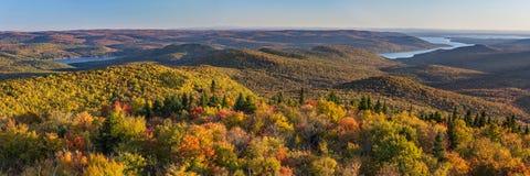 Groot Sacandaga-Meer van Hadley Mountain Royalty-vrije Stock Foto