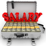 Groot salaris Stock Afbeelding