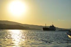 Groot schip Royalty-vrije Stock Afbeelding