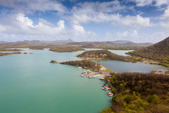 Groot St Martha  Views around Curacao Caribbean island Stock Photo