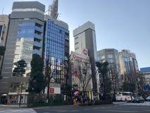 Groot Stadsstreet view stock fotografie