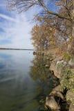 Groot Steenmeer in de Herfst royalty-vrije stock foto's