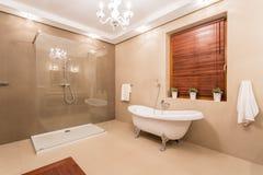 Groot toilet royalty-vrije stock foto
