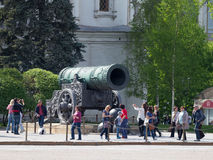 Groot Tsaarkanon, Moskou royalty-vrije stock foto