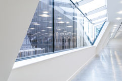 Groot verglaasd venster Royalty-vrije Stock Fotografie