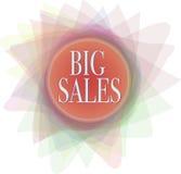 Groot verkoopontwerp royalty-vrije illustratie