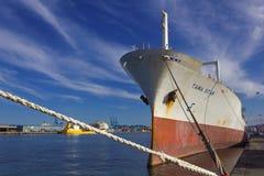 Groot vervoerschip Stock Foto