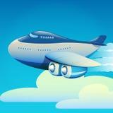 Groot vliegtuig Stock Afbeelding